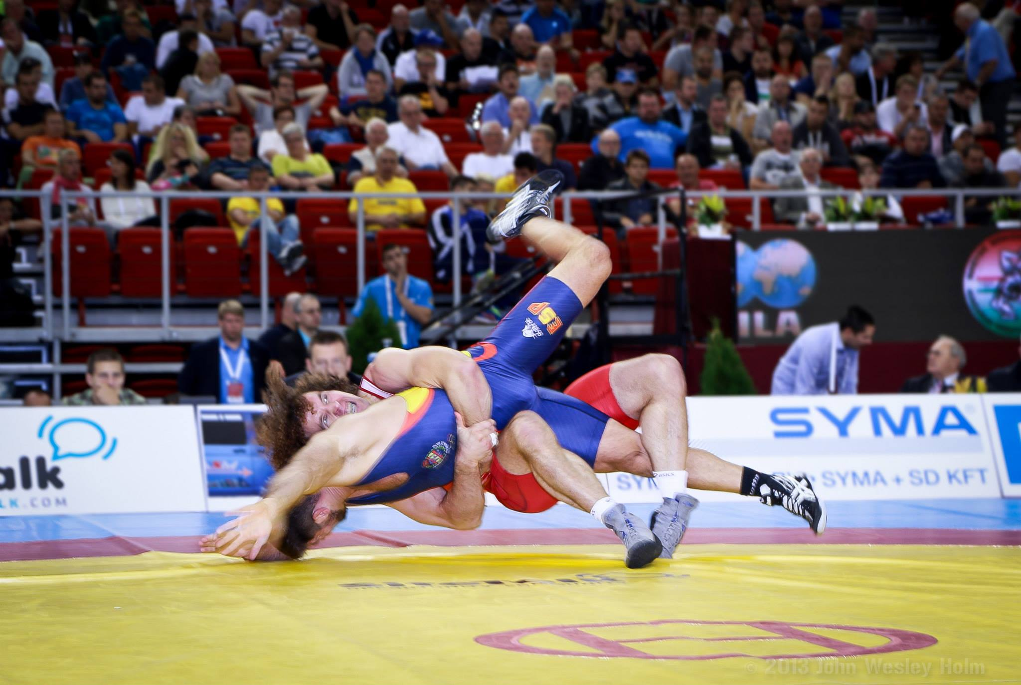 asics russia wrestling team scoring